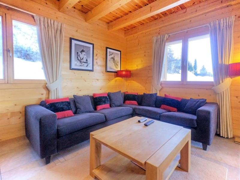 Holiday in mountain resort Chalet Teychenne - Thyon - Settee