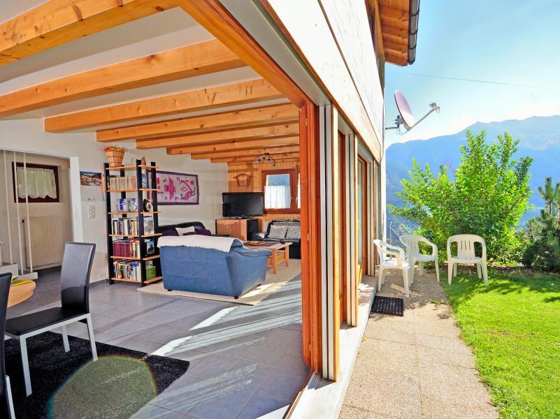 Vacances en montagne Chalet Théo - La Tzoumaz - Extérieur été