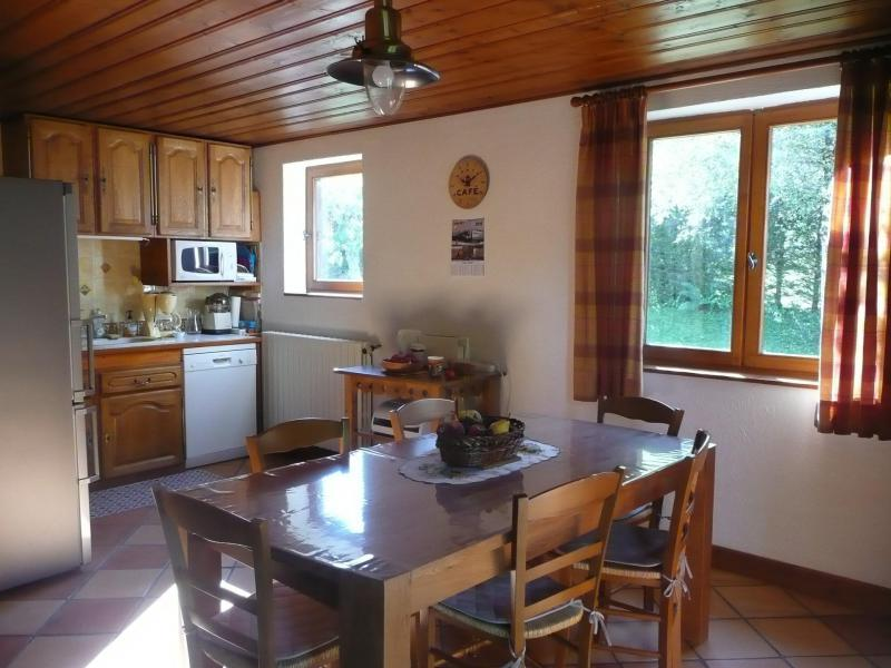 Holiday in mountain resort 5 room chalet 8 people - Chalet Ulysse - Les Houches - Dining area