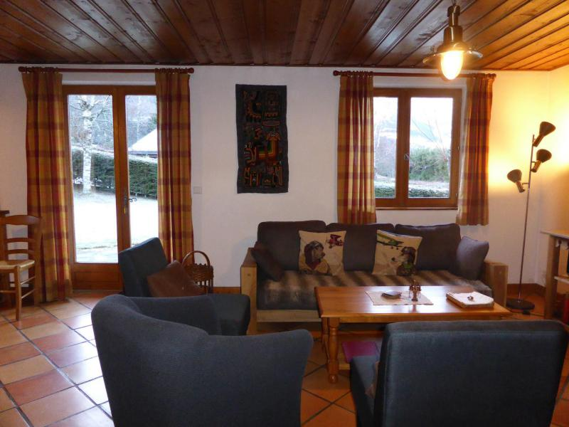Holiday in mountain resort 5 room chalet 8 people - Chalet Ulysse - Les Houches - Living room