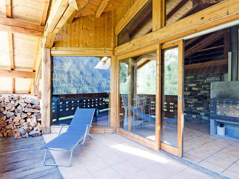 Location au ski Chalet Ulysse - Peisey-Vallandry - Terrasse