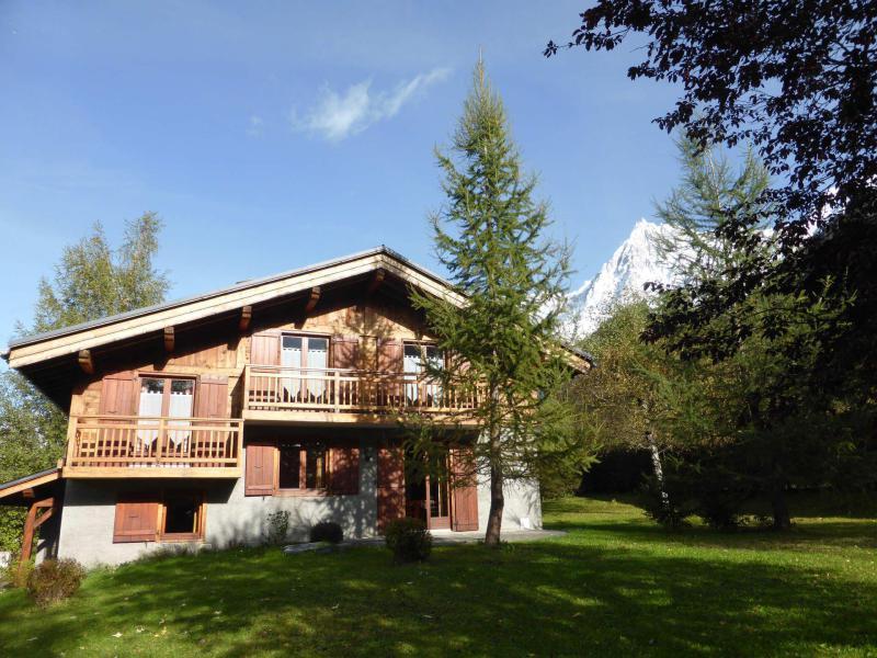 Soggiorno sugli sci Chalet Ulysse - Les Houches - Esteriore estate