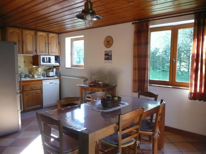 Vacances en montagne Chalet 5 pièces 8 personnes - Chalet Ulysse - Les Houches - Coin repas