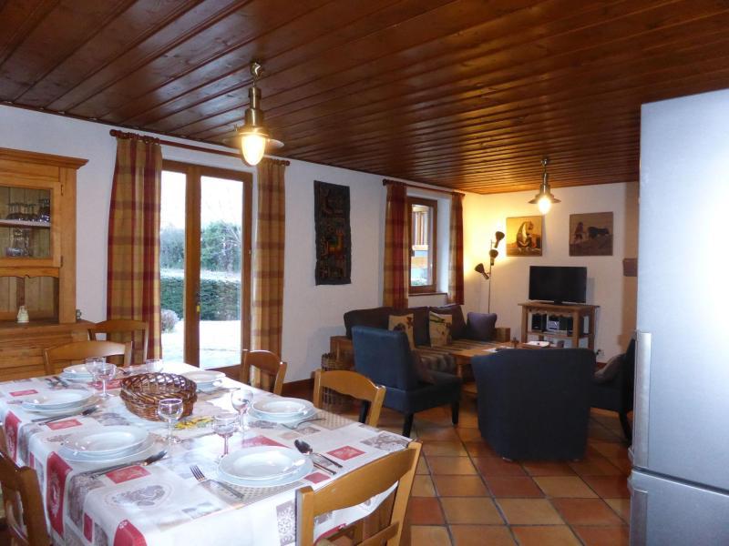 Vacances en montagne Chalet 5 pièces 8 personnes - Chalet Ulysse - Les Houches - Table