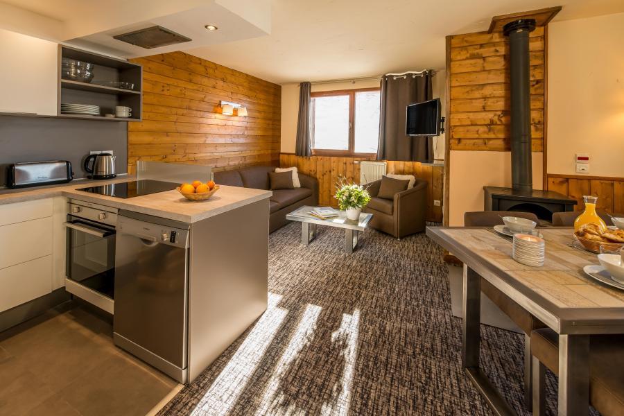 Vacances en montagne Appartement 3 pièces 4-6 personnes - Chalet Val 2400 - Val Thorens - Séjour