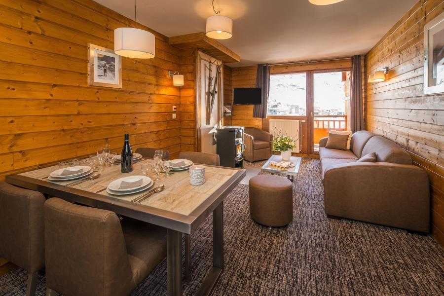 Urlaub in den Bergen Komfort Wohnung 3 Zimmer 4-6 Personnen - Chalet Val 2400 - Val Thorens - Wohnzimmer