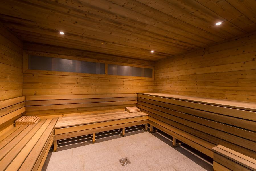 Urlaub in den Bergen Chalet Val 2400 - Val Thorens - Sauna