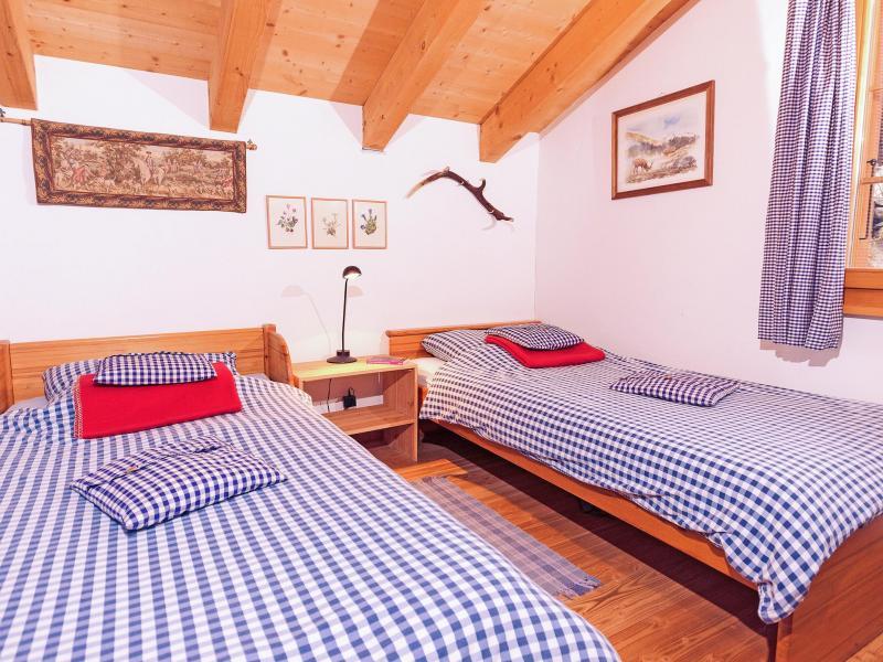 Vacances en montagne Chalet Val de Verbier - Verbier - Chambre mansardée