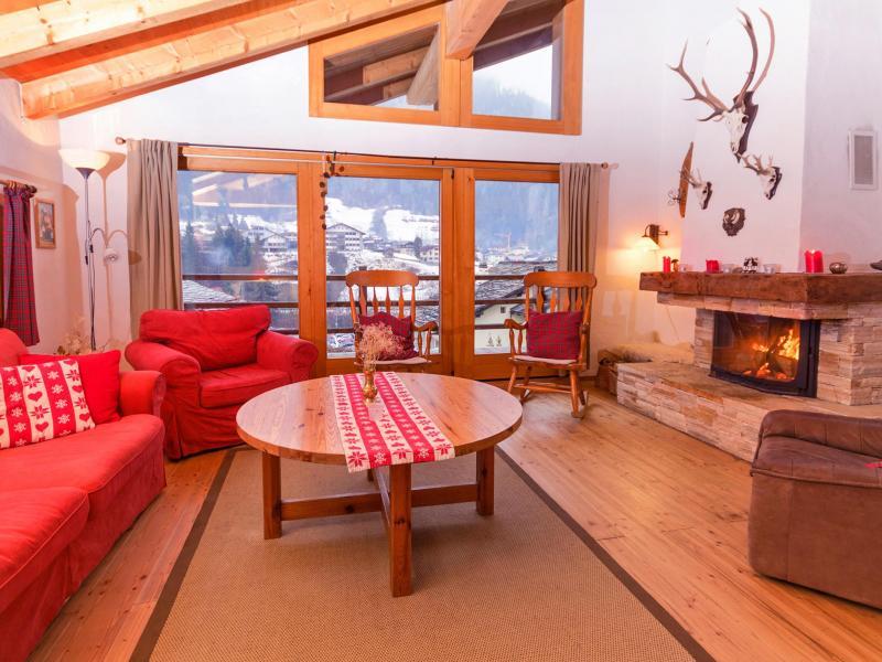 Vacances en montagne Chalet Val de Verbier - Verbier - Coin séjour