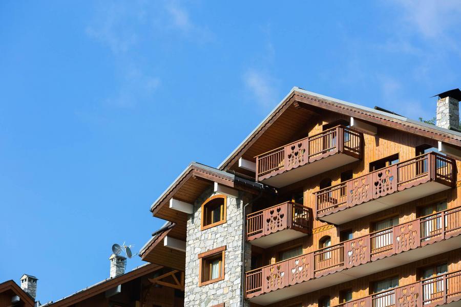 Vacances en montagne Chalet Vallon - Méribel - Extérieur été