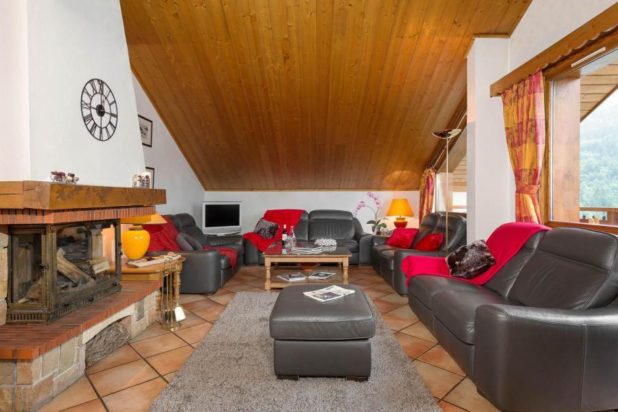 Vacances en montagne Chalet Vallon - Méribel - Séjour