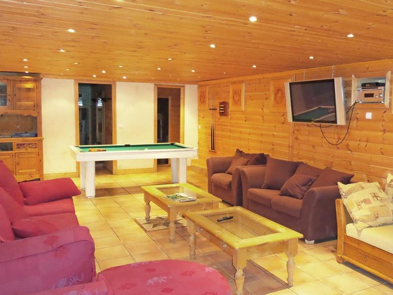 Holiday in mountain resort Chalet Vanoise - Champagny-en-Vanoise - Living room