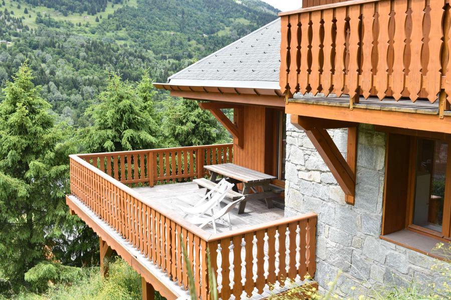Vacances en montagne Chalet 6 pièces 12 personnes - Chalet Vent de Galerne - Méribel