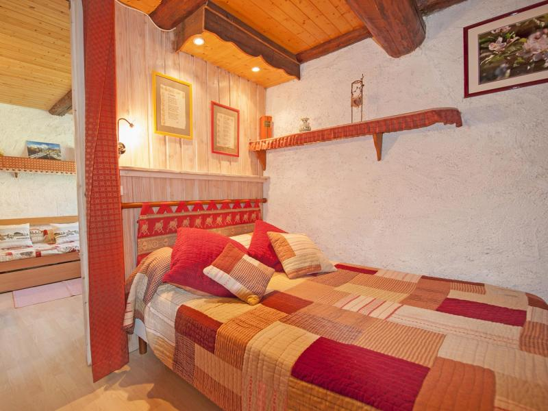 Holiday in mountain resort Chalet Vieux Moulin - Champagny-en-Vanoise - Bedroom