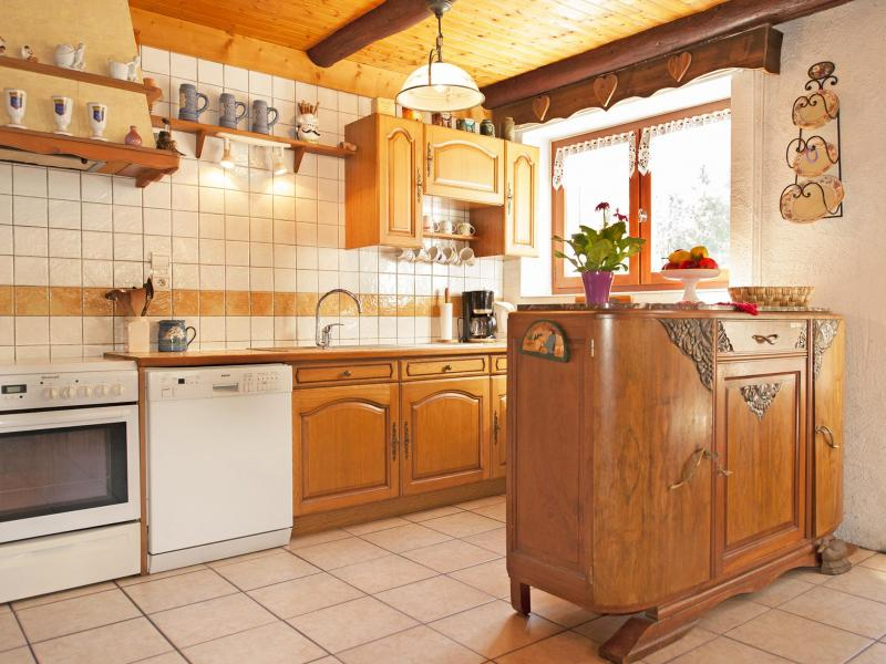 Urlaub in den Bergen Chalet Vieux Moulin - Champagny-en-Vanoise - Küche