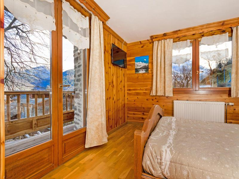 Holiday in mountain resort Chalet Villaroger - Les Arcs - Bedroom