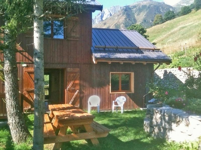 Holiday in mountain resort Chalet Vista Mont Blanc - Valmorel - Summer outside