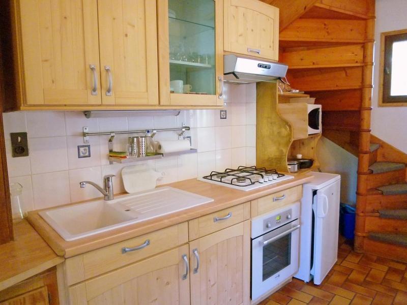 Holiday in mountain resort Chalet Vista Mont Blanc - Valmorel - Kitchen