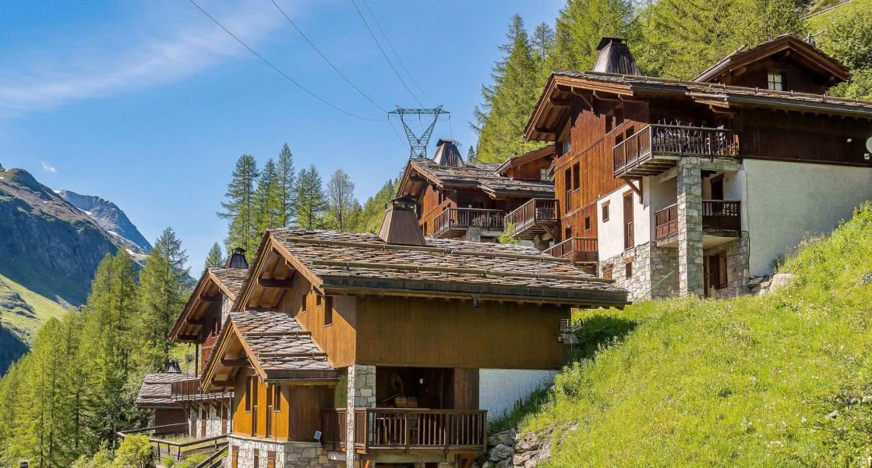 Skiverleih Chalet Whistler - Tignes - Draußen im Sommer