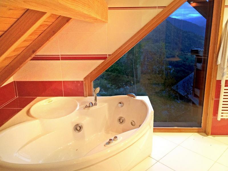 Wakacje w górach Chalet Ysengrin - Vaujany - Wanną narożnikową