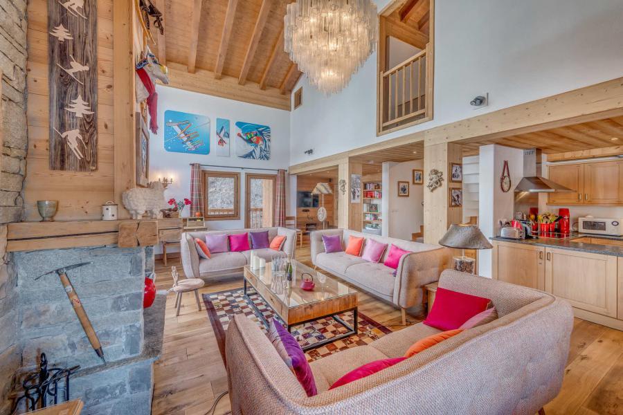 Wakacje w górach Domek górski 7 pokojowy 12 osób - Chalet Zanskar - Tignes - Pokój gościnny