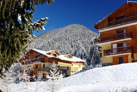 Аренда на лыжном курорте Chalets d'Arrondaz - Valfréjus - летом под открытым небом