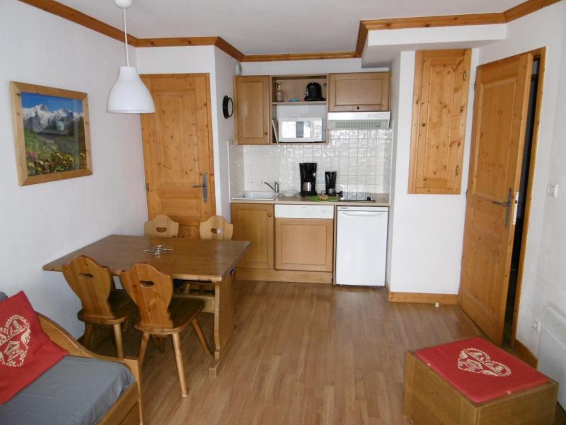 Wakacje w górach Apartament 2 pokojowy 4 osób (202) - Chalets de la Vallée d'Or Edelweiss - Valloire - Aneks kuchenny