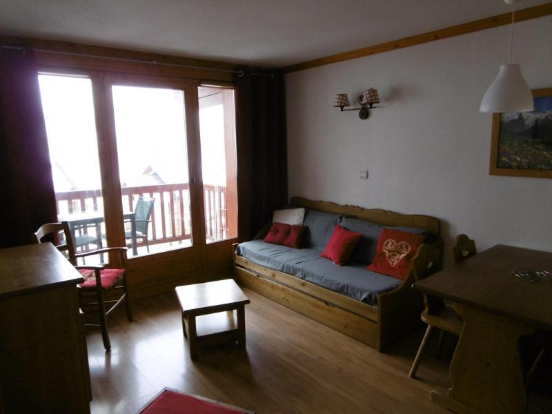 Vacaciones en montaña Apartamento 2 piezas para 4 personas (202) - Chalets de la Vallée d'Or Edelweiss - Valloire - Sofá-cama