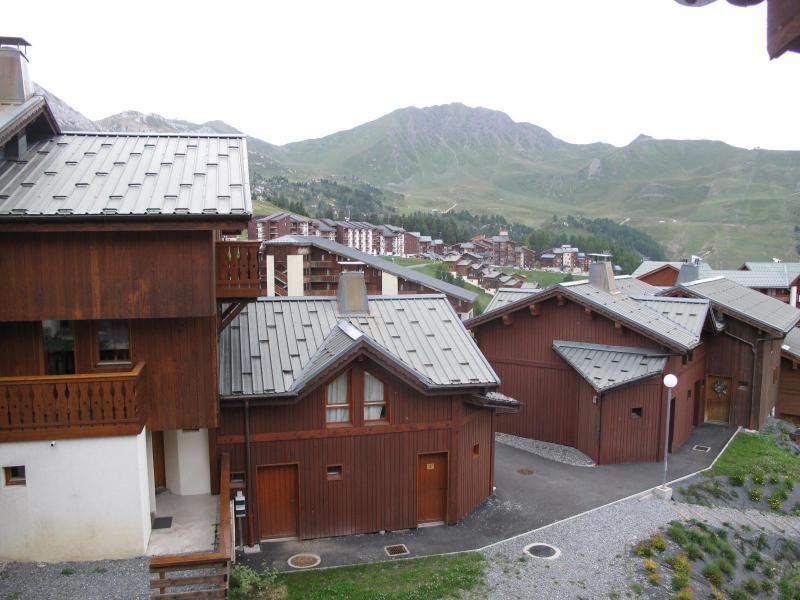 Rent in ski resort 6 room chalet 10 people (10) - Chalets des Alpages - La Plagne - Summer outside