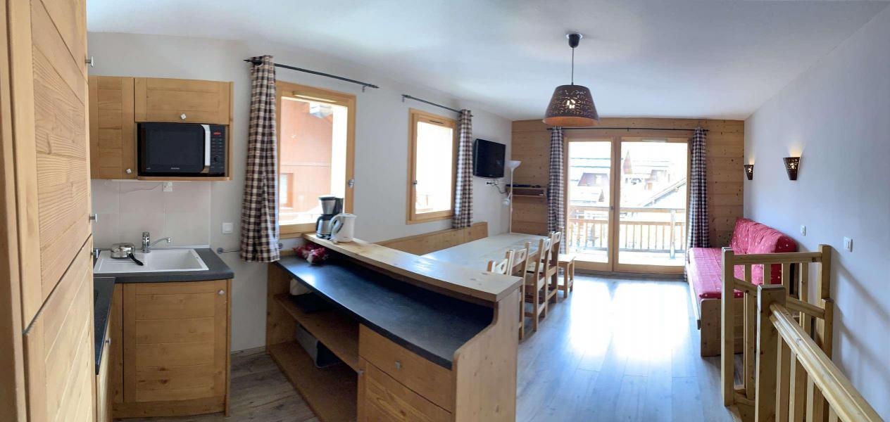 Wakacje w górach Apartament duplex 3 pokojowy 8 osób (126) - Chalets des Rennes - Vars