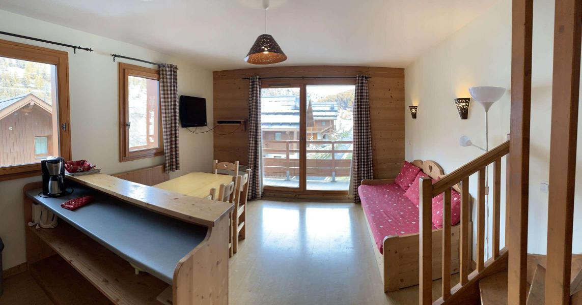 Wakacje w górach Apartament duplex 3 pokojowy 7 osób (77) - Chalets des Rennes - Vars - Zakwaterowanie