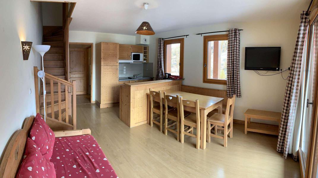 Wakacje w górach Apartament duplex 3 pokojowy 7 osób (77) - Chalets des Rennes - Vars - Pokój gościnny