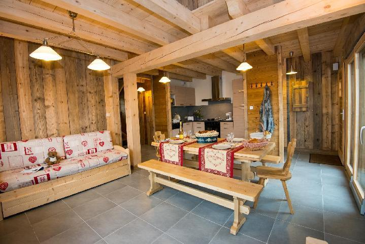 Holiday in mountain resort 4 room duplex chalet 8 people (Eco) - Chalets Domaine les Adrets - Gérardmer - Shoe closet
