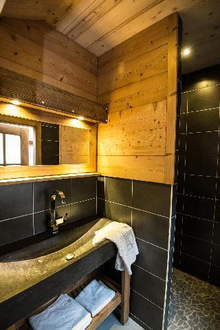 Holiday in mountain resort 4 room duplex chalet 8 people (Eco) - Chalets Domaine les Adrets - Gérardmer - Shower room