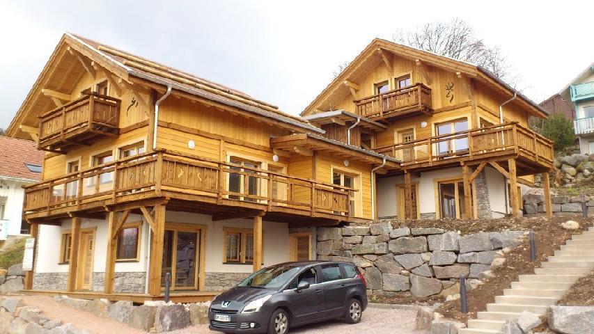 Vacances en montagne Chalet duplex 4 pièces 8 personnes (Eco) - Chalets Domaine les Adrets - Gérardmer - Extérieur été