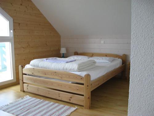 Vacances en montagne Chalets Domaine les Adrets - Gérardmer - Chambre mansardée