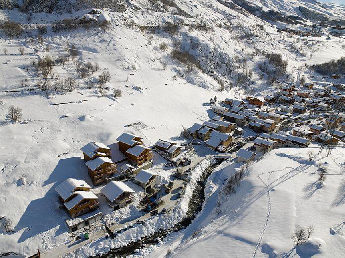 Vacances en montagne Chalets du Doron - Les Menuires