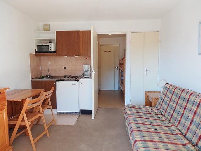 Vakantie in de bergen Appartement 1 kamers 2 personen (24) - Chalets du Soleil - Les 2 Alpes - Verblijf
