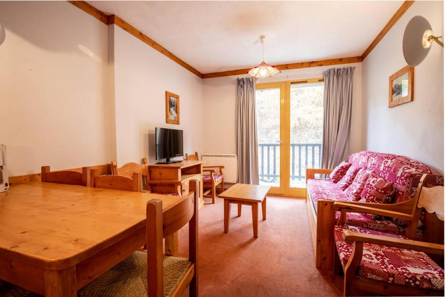 Wakacje w górach Apartament 2 pokojowy kabina 6 osób (B156) - Chalets du Thabor - Valfréjus - Pokój gościnny