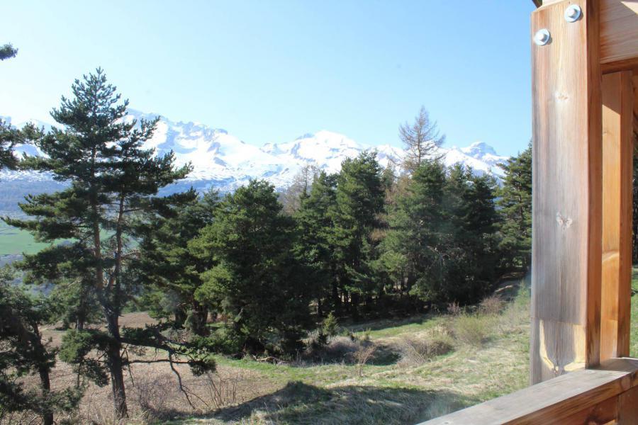 Vacaciones en montaña Chalet semi-separado 4 piezas para 8 personas (N1) - Chalets la Crête du Berger - La Joue du Loup - Verano