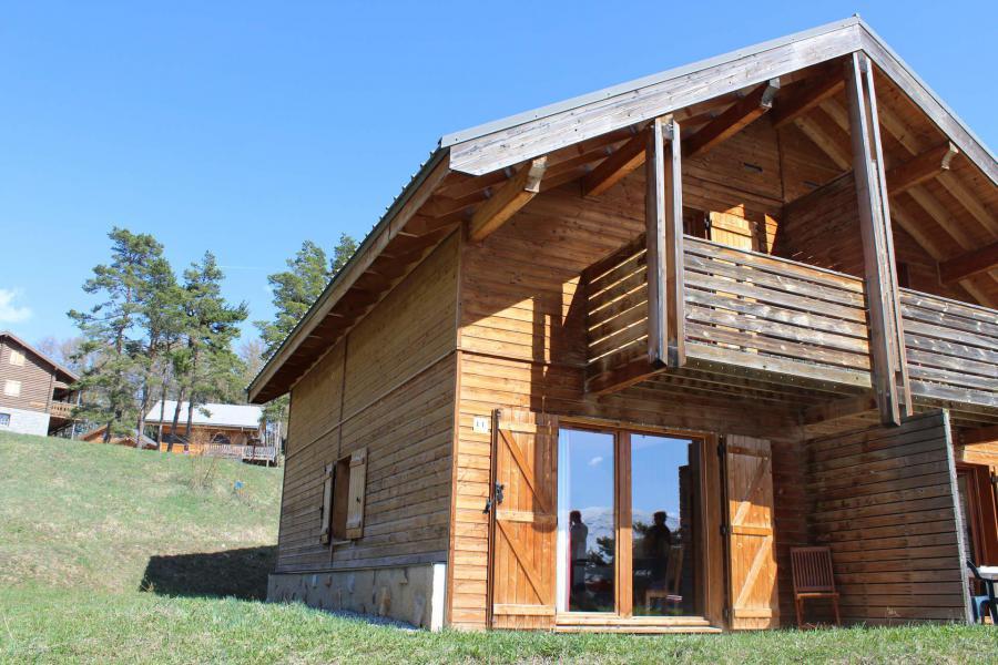 Vacaciones en montaña Chalet semi-separado 4 piezas para 8 personas (L1) - Chalets la Crête du Berger - La Joue du Loup - Verano
