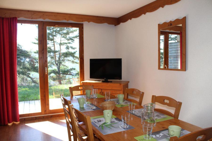 Vacaciones en montaña Chalet semi-separado 4 piezas para 8 personas (N1) - Chalets la Crête du Berger - La Joue du Loup