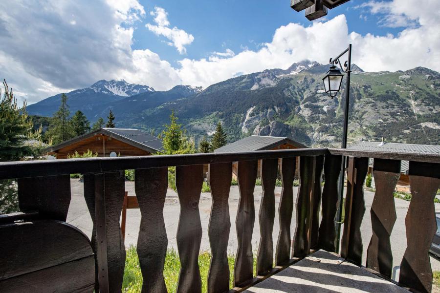 Wakacje w górach Apartament 2 pokojowy z alkową 6 osób (EP66D) - Chalets les Epervières - La Norma - Na zewnątrz latem