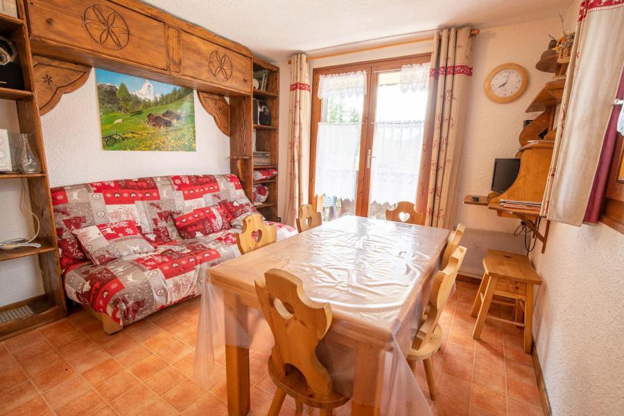 Wakacje w górach Apartament 2 pokojowy z alkową 6 osób (EP66D) - Chalets les Epervières - La Norma - Pokój gościnny