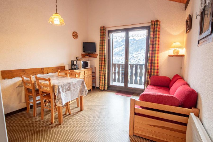 Wakacje w górach Apartament 2 pokojowy z alkową 6 osób (EP75A) - Chalets les Epervières - La Norma - Pokój gościnny