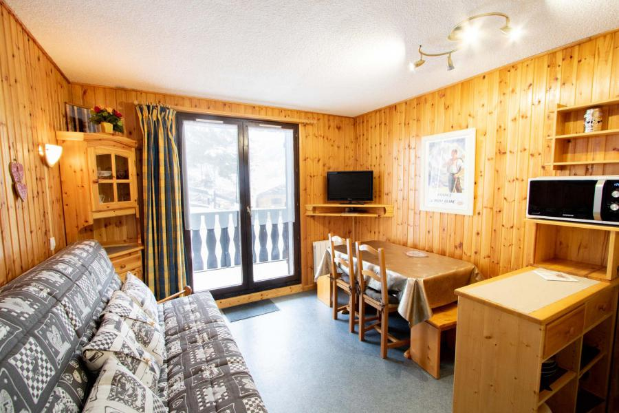 Vacaciones en montaña Apartamento cabina 2 piezas para 6 personas (EP72F) - Chalets les Epervières - La Norma - Estancia