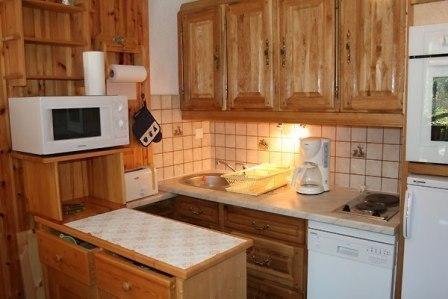 Vacaciones en montaña Apartamento cabina 2 piezas para 6 personas (EP72F) - Chalets les Epervières - La Norma - Kitchenette