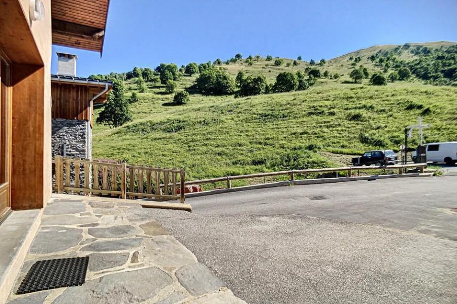 Vacances en montagne Chalet triplex 4 pièces 6 personnes (Siana) - Chalets les Granges - Saint Martin de Belleville - Extérieur été