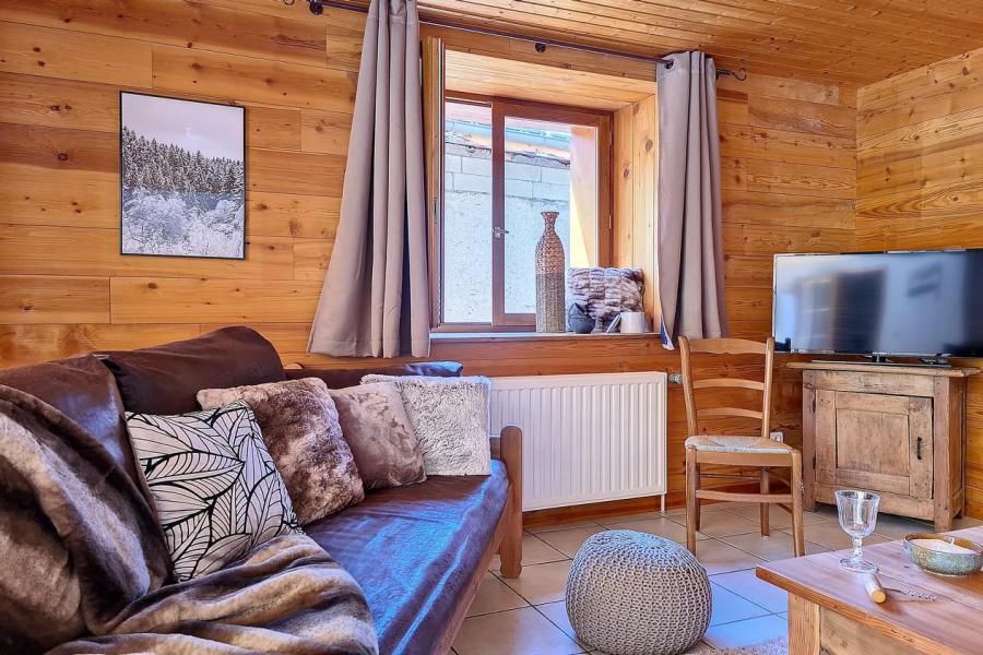 Wakacje w górach Domek górski triplex 4 pokojowy  dla 6 osób (Siana) - Chalets les Granges - Saint Martin de Belleville - Pokój gościnny
