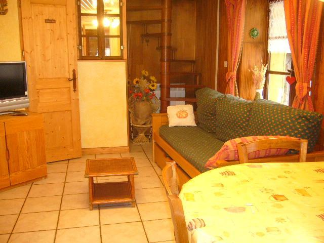 Vacances en montagne Chalet 3 pièces 4 personnes (Bottepa) - Chalets les Varcins - Saint Martin de Belleville - Séjour